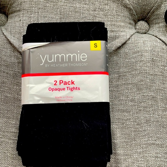 3 for $15 Yummie Brand New Black Tights